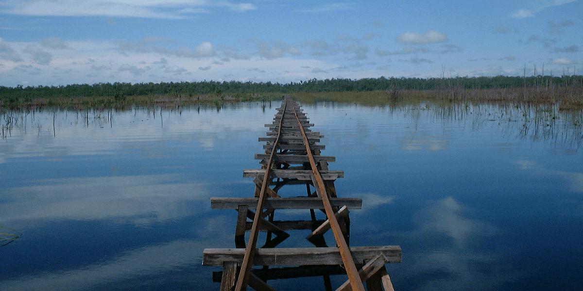 インドネシア カリマンタン島