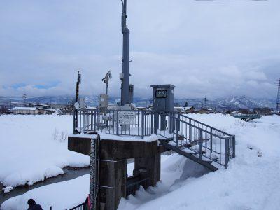 最上川水系和田川に設置