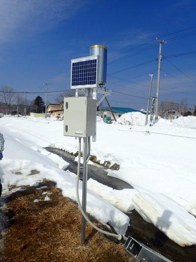 北海道 内水河川設置水位計