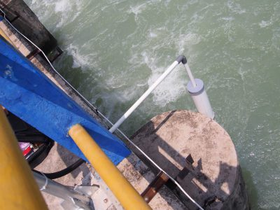 インドネシア PJT2(第二水管理公社) チュルック堰